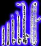 Silverwood Clarinet Choir instruments