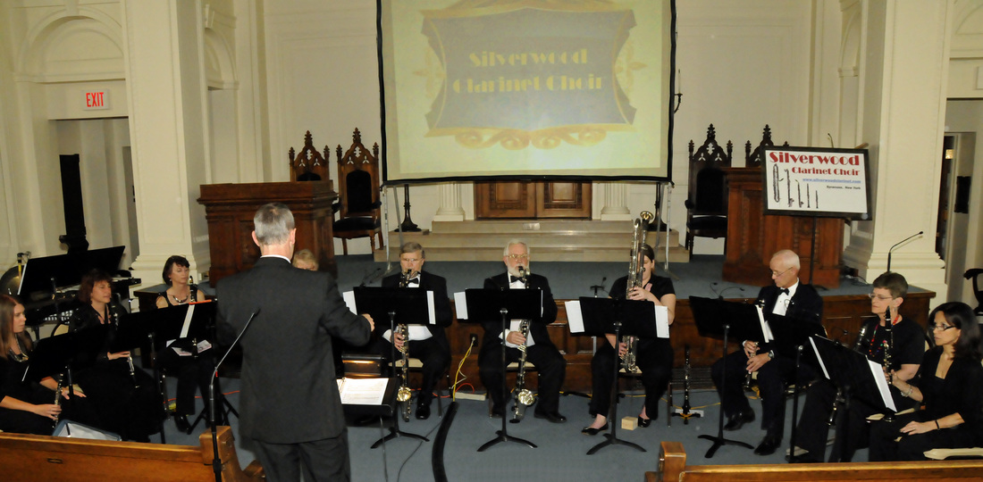 The Great Clarinet Circus by Silverwood Clarinet Choir at Temple Concord, Syracuse, NY